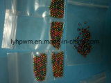 Geanodiseerde Diameter 3.8mm van de Kleur van de Regenboog Wolfram laste Parels voor Visserij in