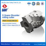 Populäre indexierbare quadratische Schulter-Prägescherblock für Großverkauf