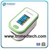 O oxímetro de pulso dedo coloridos com ecrã OLED