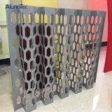 Panneau en aluminium de façade de couverture perforée en métal pour l'extérieur