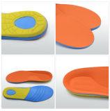 개정 안창 발 배려 X 모양 다리를 위한 편평한 발 단화 삽입