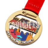 Medalla de encargo del deporte profesional del corredor de la concesión del metal de la muestra libre