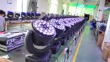 luz principal movente da lavagem do diodo emissor de luz do poder superior 28PCS25W