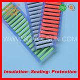 Leichtes einfaches Gebrauch-rote Wärmeshrink-Kabel-Kennzeichen-Gefäß