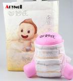 中国の安い工場卸売価格の使い捨て可能で眠い赤ん坊のおむつのおむつの製造業者