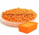 De Rang van het voedsel Gele Masterbatch voor het Blazen de Korreling van de Uitdrijving van de Injectie van de Film