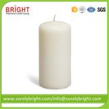 Vela pilar de la vela Blanca de suave