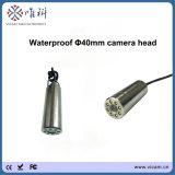 De Videocamera van kabeltelevisie onder de Buizen van de Camera van de Inspectie van het Afvoerkanaal van het Water goed 8 Video's (kabel 30m-100)