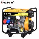 Tipo di blocco per grafici aperto raffreddato ad aria generatore diesel del singolo cilindro (DG6000E3)