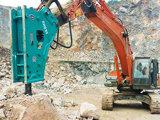 Type latéral de Rewin rupteur hydraulique pour la roche hydraulique Hanmmer d'excavatrice