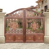 Вилла архитектурных алюминиевых сад ворота