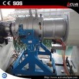 Belüftung-Rohr-Herstellungs-Maschine mit Doppelschraubenzieher