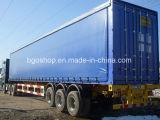 Cubierta revestida del encerado del PVC para el camión del carro