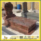 Rot/blau/Schwarzes/Graues/Grün/purpurrotes/weißes Granit-/Marmor-Denkmal mit Engel (europäischem/amerikanischem/chinesischem/japanischem/russischem Stytle)