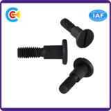 Building를 위한 DIN/ANSI/BS/JIS 탄소 Steel 또는 스테인리스 Steel M5 Round Flat Non-Standard Head Screws