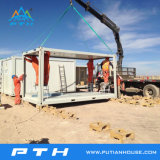 China-vorfabriziertes Behälter-Luxuxhaus für modulares Hauptgebäude