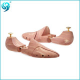 Árbol de medida adaptable del zapato de madera de metal del oro de la longitud