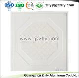 Matériau aluminium décorative artistique moderne les dalles de plafond