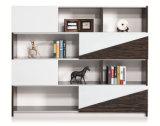Meuble d'archivage moderne de Bookself de bibliothèque de Module de mélamine pour le projet de bureau