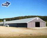 鉄骨構造の鶏の使用の家禽は肉焼き器のニワトリ小屋収容したりまたはChickendの農場の