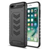 iPhone 6/6s/7/7s/8/8plus를 위한 최고 질 2in1 하락 TPU +PC 전화 상자