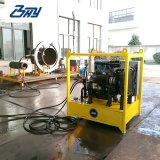 """Taglierina di tubo del blocco per grafici del diesel idraulico portatile e macchina spaccate Od-Montate di Beveler per 4 """" - 8 """" (114.3mm-219.1mm)"""