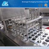 Remplissage de cuvette et machine en plastique automatiques de cachetage (AK-MACHINE)