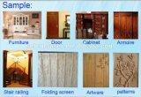 W2030 Grande Table de meubles en bois porte fenêtre Gravure La Découpe CNC Router