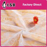 Bello tessuto all'ingrosso del merletto del fiore del ricamo