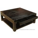 Appartement centre de table Table carrée en bois de conception pour la vente (ST0037)