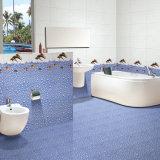 Glasig-glänzende Tintenstrahl-Innenporzellan-Wand-Fliese für Waschraum-Dekoration 300X450mm