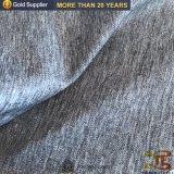 100 % Polyseter tissu à armure sergé Gabardine cationiques convenant pour vêtement