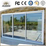 Deur van het Glas UPVC van de Glasvezel van de Prijs van de Fabriek van China de Vervaardiging Aangepaste Goedkope Plastic met de Binnenkant van de Grill