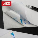 Revestimiento impermeable impermeable Glassine blanca la etiqueta de dirección de papel térmico etiquetas de envío