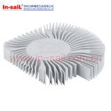 Liga de alumínio de fundição de moldes de Alta Pressão o dissipador de calor do amplificador