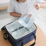 Sac 10505 de déjeuner isolé par sac extérieur pliable de refroidisseur