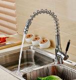 Pullable printemps tournent universelle All-Copper Eau chaude/froide du robinet de cuisine