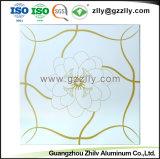 O material de construção do teto de alumínio de revestimento do rolo de impressão do painel do teto