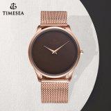 Type simple neuf Wristwatch72900 d'acier inoxydable de montre de Mens de marque