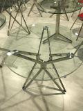 5 날카로운 별 유리제 사무실 테이블