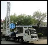 トラックによって取付けられる掘削装置(HFT350B)