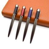 Penna di Ballpoint di lusso blu rossa nera opaca del metallo