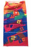 Fabrik-Erzeugnis kundenspezifischer Firmenzeichen-Druck-Polyester-StutzenröhrenBandana