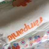 Preiswerter Preis färbte Backsheet pp. Band-Baby-Windel von China
