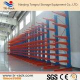 Estante voladizo de acero de Storag del almacén superventas con la capa del polvo