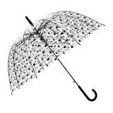 선전용 투명한 Poe 우산이 도매에 의하여 농담을 한다