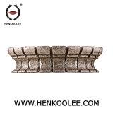 대리석 가는 직경을%s Electroplated 다이아몬드 돌 단면도 바퀴 140 mm 아버 30 mm