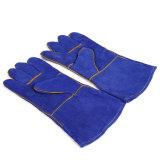 """14""""estilo OEM guantes de soldadura de alta calidad/ Cuero Guantes de trabajo de soldadura"""