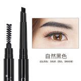 2 в 1 средства макияжа долговечные водонепроницаемый жидкость Eyeliner карандаш для бровей карандашом черного цвета Коричневый карандаш красивой формы