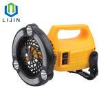 Многофункциональная светодиодная лампа фонаря кемпинг с электровентилятора системы охлаждения двигателя